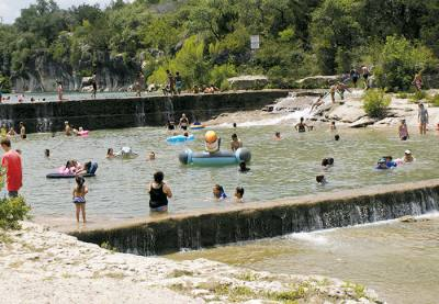 Blue Hole Park is located at 100 Blue Hole Park Road, Georgetown.