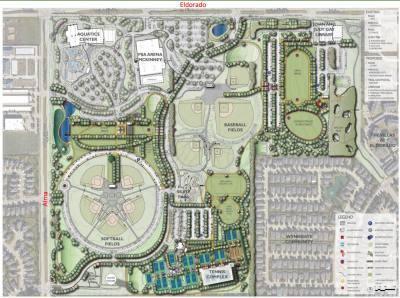 The master plan for Gabe Nesbitt Park was approved in 2015.