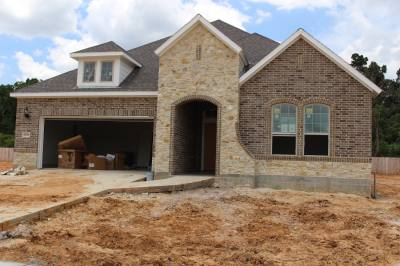 Construction is ongoing at a number of new residential communities in the Tomball and Magnolia areas, including Yaupon Trails.