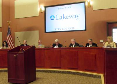 Lakeway City Council met in regular session on Jan. 29 to discuss the city charter.