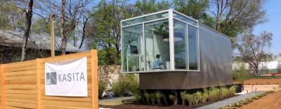 An example of a tiny home from Austin-based developer Kasita.