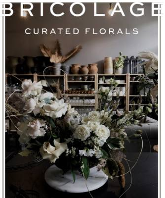 Barista-turned-florist Samantha McCrary is behind Bricolage Curated Florals.