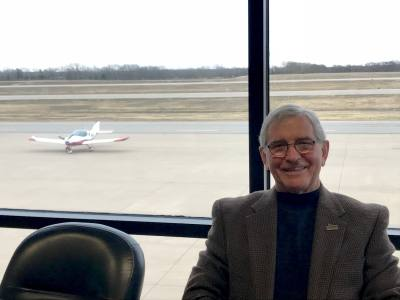 Ken Wiegand served as director of the McKinney National Airport director for 15 years.