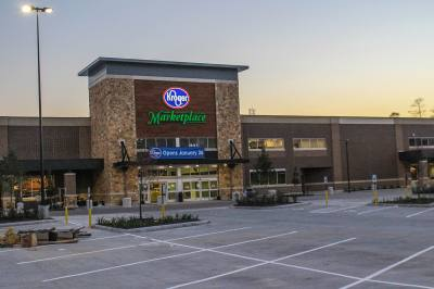 Kroger Marketplace opens on Jan. 26 in 336 Marketplace, a retail center in the Grand Central Park development.