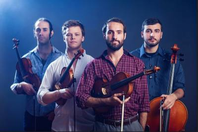 The Invoke String Quartet performs in Spicewood on Jan. 20.