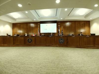 The Katy City Council met Monday, Jan. 22 for their regular meeting at City Hall. Repairs to the building necessitated by flooding last fall are almost complete.