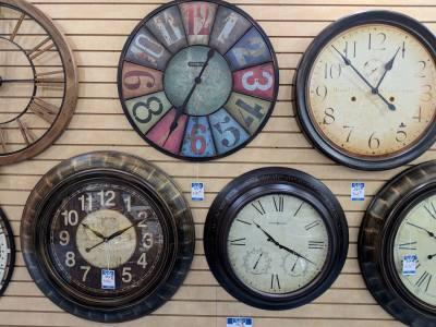 Kouryu2019s Jewelry & Clocks has more than 100 clocks in stock.