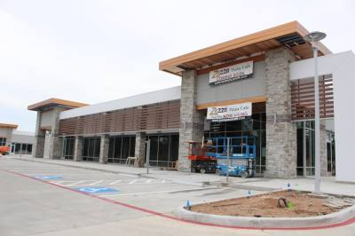 Augusta Woods Village is a retail center under construction at the northeast corner of Kuykendahl Road and Timbercrest Village Drive.