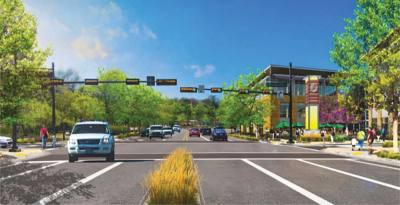 Cedar Park is working on realigning a portion of Bell Boulevard, or US 183.