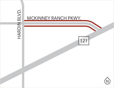 Part of McKinney Ranch Parkway will be closed from January-April, according to the city of McKinney.n