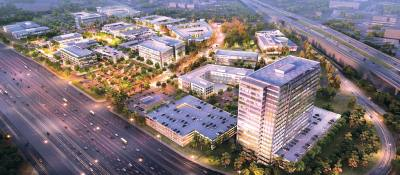 Southgate, a 55-acre, mixed-use development located near the intersection of US 75 and SH 121, is one of three major developments coming to the city.