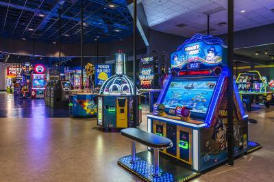Following renovations Main Event's North Austin location is now its largest location.