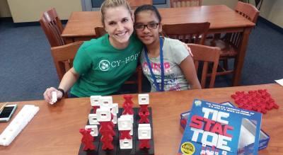 The CFISD Mentor Program has more than 700 community volunteers.