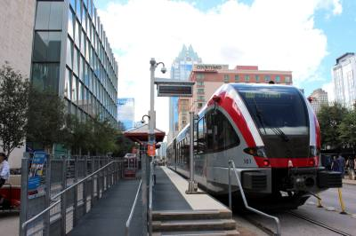 Capital Metro named Randy Clarke as finalist as its new president/CEO. Board Chairman Wade Cooper said Clarke's experience could be key to helping the agency expand its rail operations.