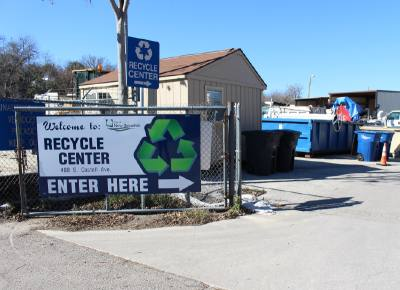 During fiscal year 2016-17, the city of New Braunfels saved $180,000 on disposal fees because of its recycling program.