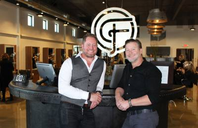 Craig Cobb (right) and Corbin Shullanberger opened The Foundry Salon in September 2016. It is located at 1320 Hanz Dr. in New Braunfels.