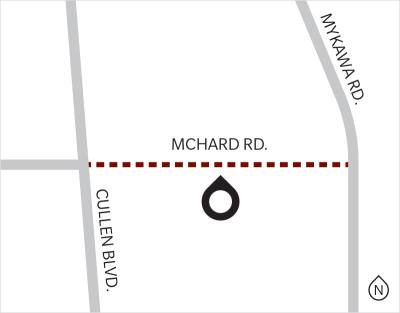 Construction on McHard Road extension to begin in 2019.