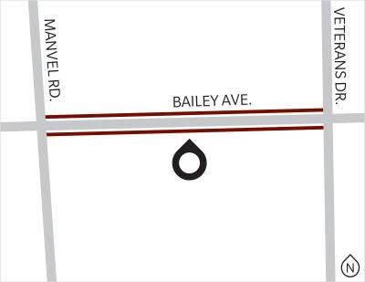 The Bailey Road expansion was completed in 2017.