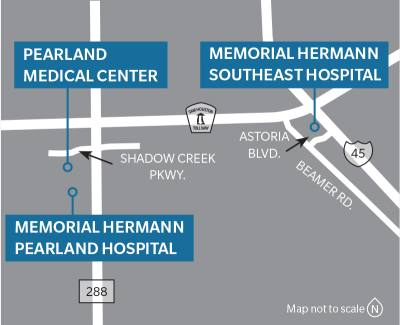 Multiple hospitals in Pearland are planning an expansion of services in several departments  in 2018.