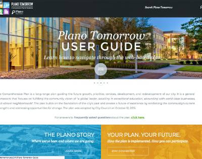 The website for Plano Tomorrow explains some components of the plan, which has been challenged in court.n