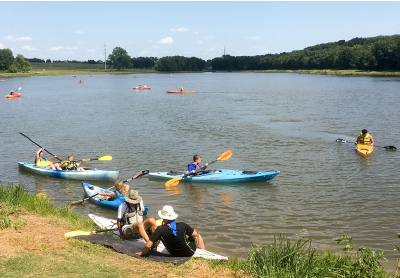 Planou2019s largest park, Oak Point Park and Nature Preserve, offers visitors kayaking, hiking and biking and trails and covers 800 acres.