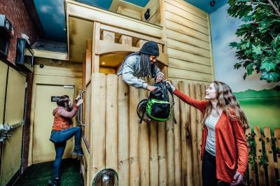 Playground at the Escape Game Dallas is designed for up to 12 players, making it the biggest game yet.