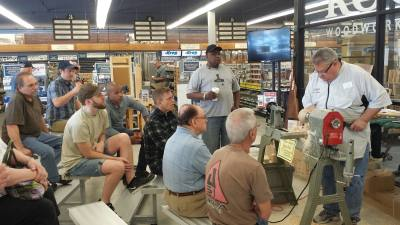 Rockler Woodworking and Hardware will celebrate its grand opening with a variety of demonstrations and workshops on Jan. 6.