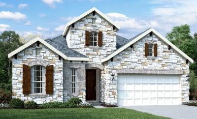 The Vistas at Klein Lake includes a variety of single-family homes in its Parks series.