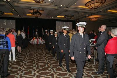 The Cy-Fair Educational Foundation hosts Salute to Our Heroes.