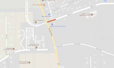 According to Tomball Fire Department, Baker Drive at Hwy. 249 will be closed on Saturday, Feb. 3 from 6 a.m. to 1 p.m.
