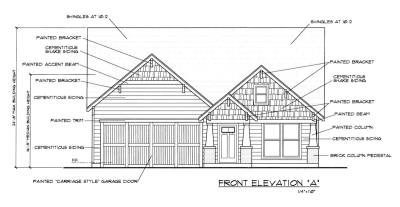 The Shady Brook neighborhood in Grapevine will have room for spacious single-story homes in its available 44 lots.