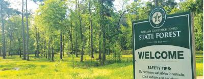 Texas A&M Forest Service will be conducting prescribed burning at the W. Goodrich Jones State Forest Jan. 11 through the end of the month, from 10 a.m.-3:30 p.m., as weather permits.