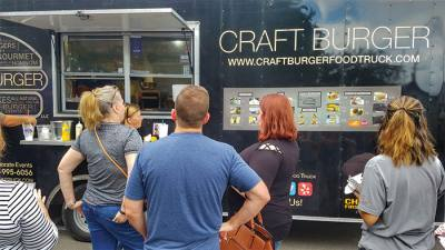 The city of Tomball hosts its Freight Train Food Truck Festival in October.