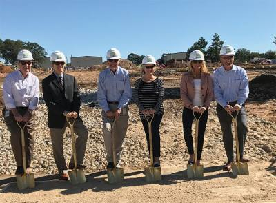 The facility broke ground last fall in the Tomball Business and Technology Park.