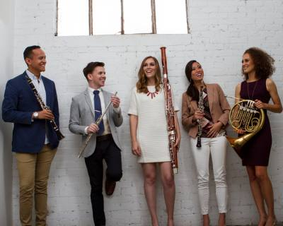 The quintet WindSync will perform on Jan. 9.