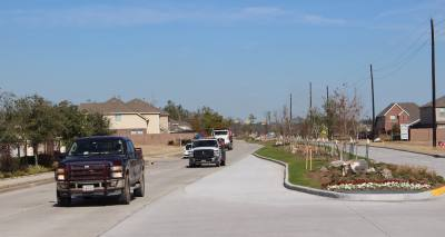 The extension of Woodland Hills Drive opened between Beltway 8 and FM 1960 Jan. 10.