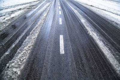Hazardous road conditions are expected to continue into Wednesday.