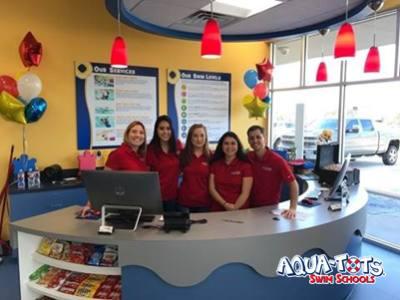 Aqua-Tots Swim Schools opened a new location on Cypresswood Drive in Spring.