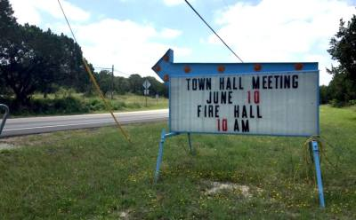 The Village of Volente has held some town meetings at the local fire station due to space restrictions and is considering buying or leasing new City Hall space.