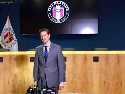 Austin City Manager Spencer Cronk introduced a $4.1 billion city budget in August.