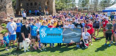 The second annual PuppyUp Spring Walk will be held at Rob Fleming Park on Feb. 10.