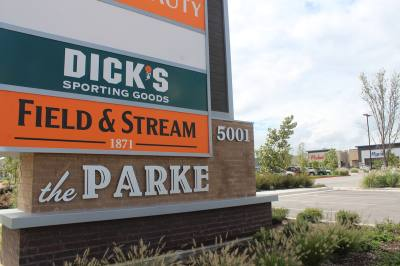 DICK's Sporting Goods and Field & Stream are located in The Parke shopping center in Cedar Park.