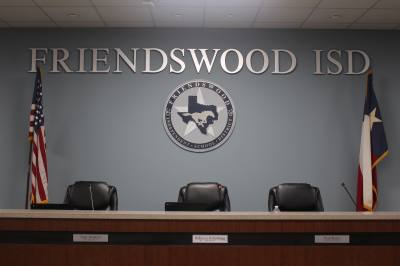 Friendswood ISD school meetings are held once a month.