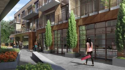 The Foundry is a new mixed-use office and residential development in East Austin.