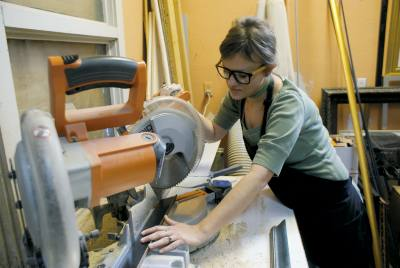 The Framer's Gallery uses high-quality, acid-free materials that prevent damage to artwork, owner Kimi Chapman said.