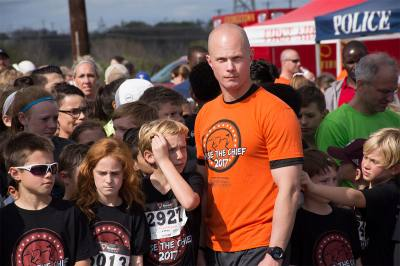 Georgetown Police Chief Wayne Nero will u2018raceu2019 runners during the Chase the Chief event March 4.