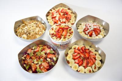 Vitality Bowls specializes in au00e7au00ed bowls that feature a thick blend of the Amazonu2019s antioxidant-rich berry, topped with a variety of superfoods.