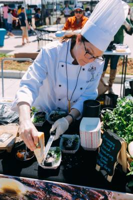 Harvest Greenu2019s Chef Fest is a farm-to-table food festival that features the works of 10 local area culinary artists.