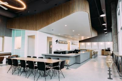 The new Houndstooth Coffee location is the company's third.