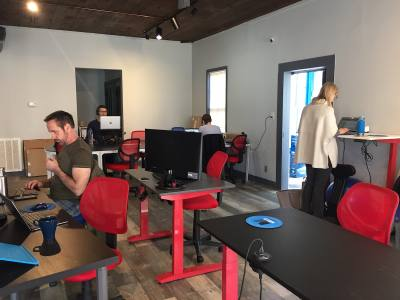 Meld Coworking opened Feb. 7.